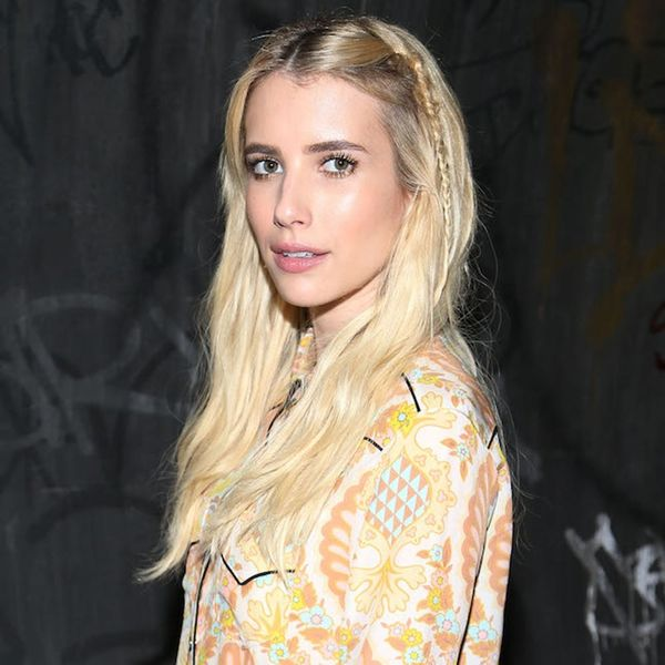 Emma Roberts Cold Shoulder Sweater Is the Upgraded Trend for Fall