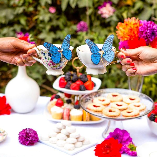 Don't Be Late for This Very Important Alice Through the Looking Glass-Themed Tea Date