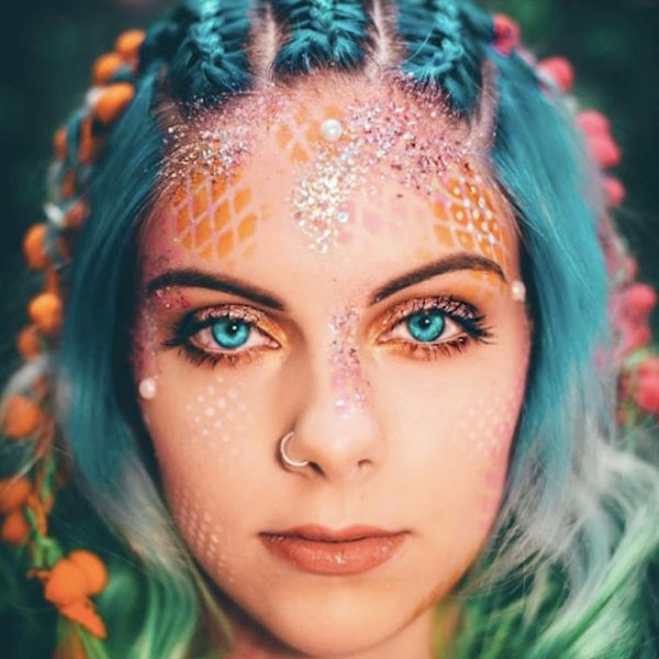 15 Ways Glitter Can Transform Your Halloween Makeup