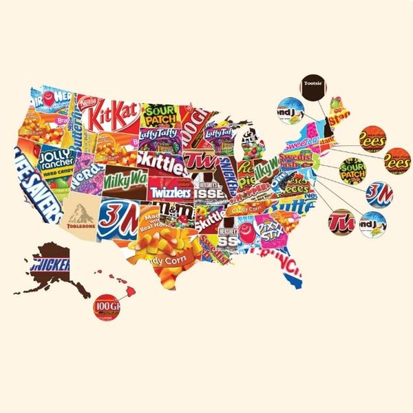People Are SUPER MAD About Their State's Fave Halloween Candy