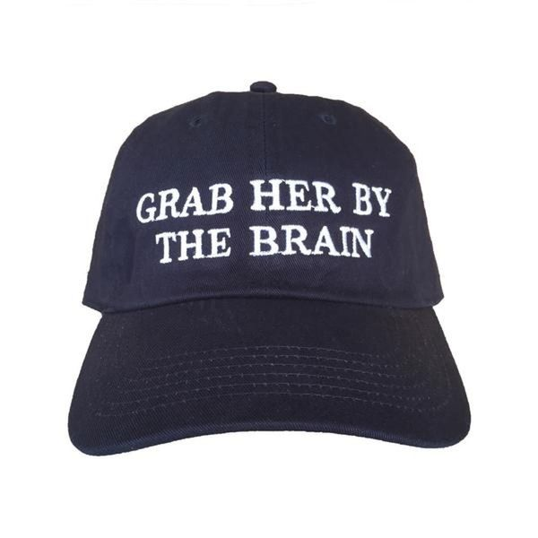 "Peeps Are Extremely Upset About the ""Grab Her by the Brain"" Campaign"