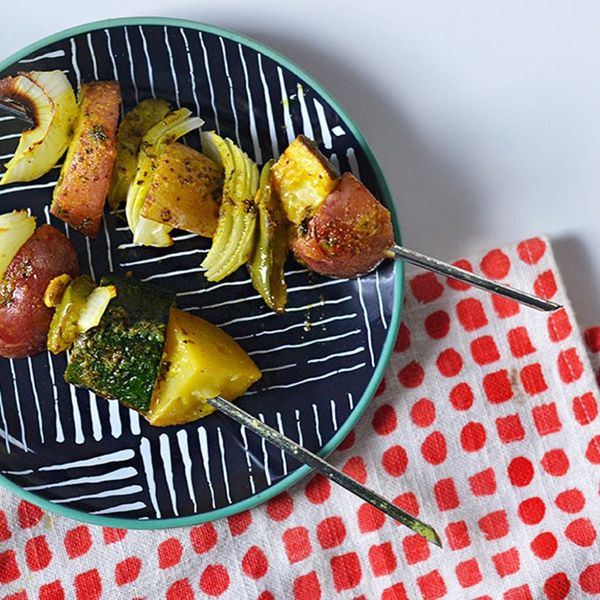 These Grilled Vegetable Skewers Are the Perfect Thanksgiving Side Dish