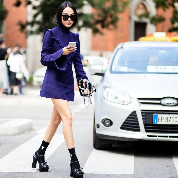 The It Girl's Guide to Rocking Socks Like a Street Style Star This Season