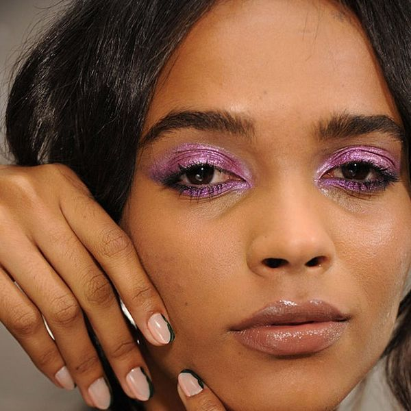 The Runway Has Spoken: Color-Blocked Makeup Is Officially a Thing