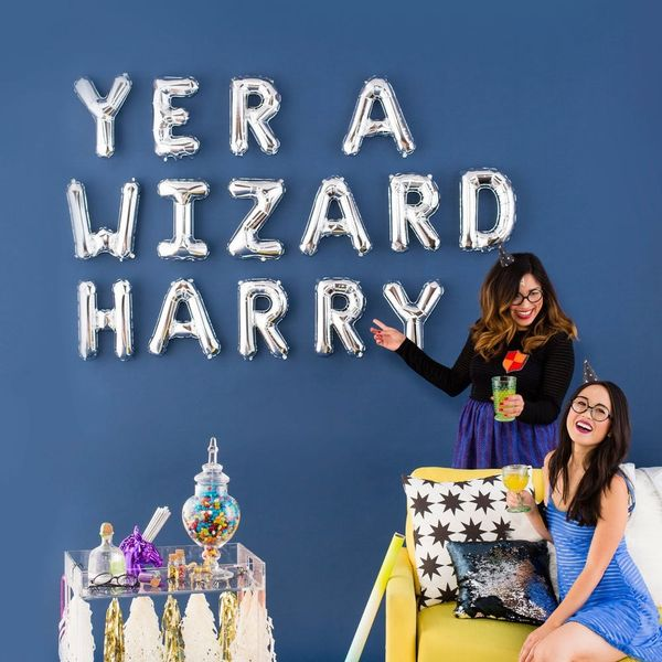 How to Throw the Girliest Harry Potter Party Ever
