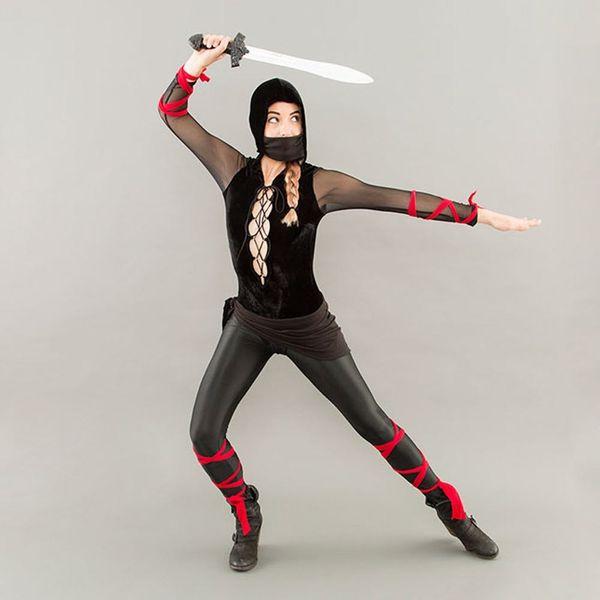 How to Make a Last-Minute Ninja Halloween Costume