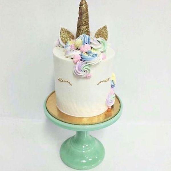 This New Unicorn Cake Trend Is Pure Rainbow Magic