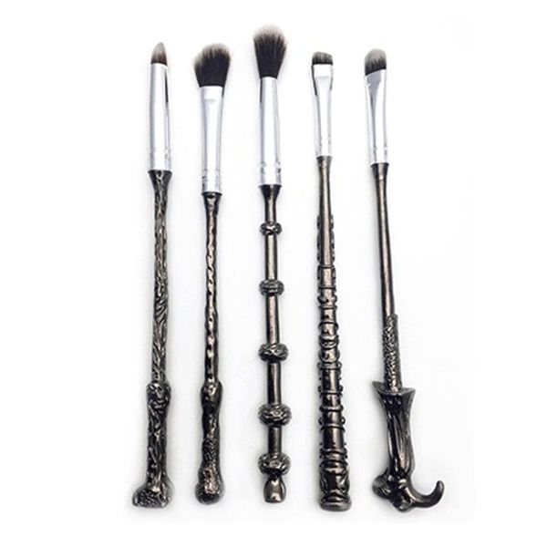 These Harry Potter Wand Makeup Brushes Will Make Your Beauty Routine Magical