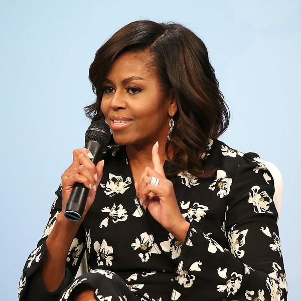 Here's What Michelle Obama Has to Say About the Allegations Against Donald Trump