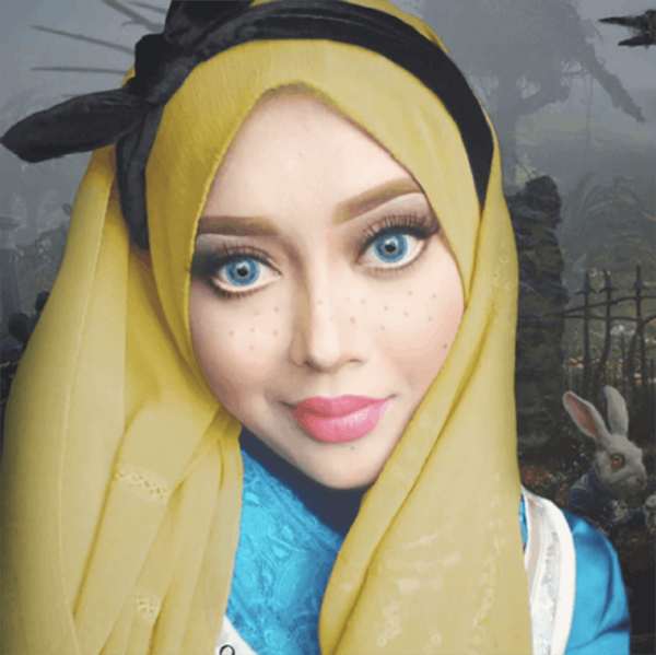 This Halloween Qween Uses Her Hijab to Transform into Every Disney Princess