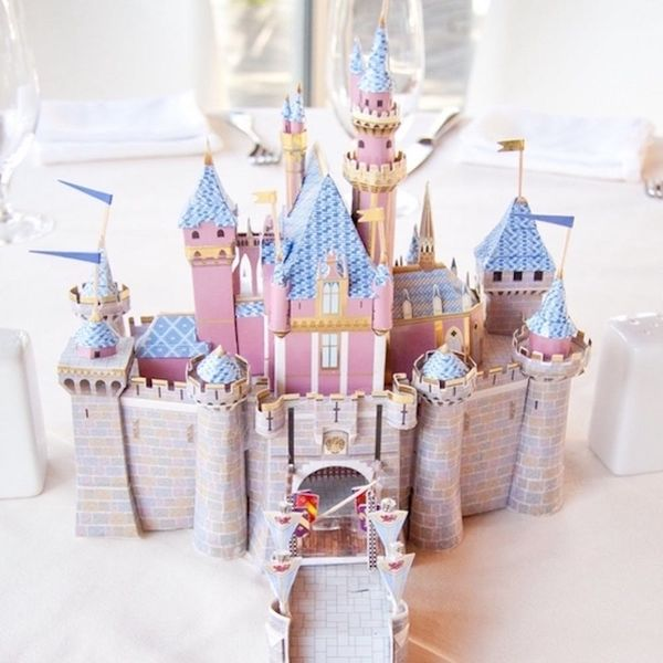 This Couple's Disney Wedding Showcased a Different Movie in EVERY Centerpiece