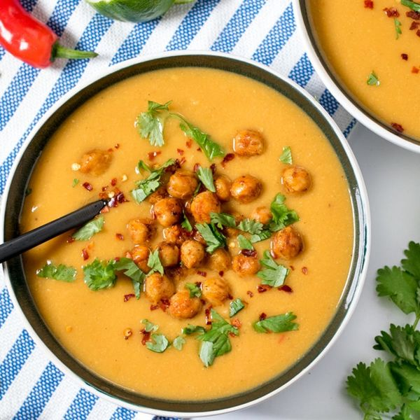 Batch Cook This Chickpea and Lime Soup for Lunches All Week