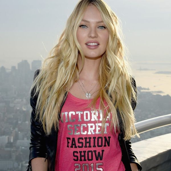VS Angel Candice Swanepoel Is Officially a Mommy
