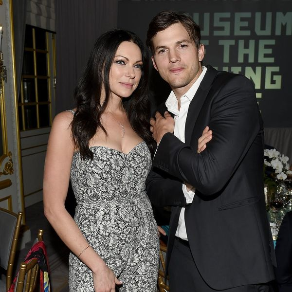 Ashton Kutcher Has Some Words for Laura Prepon Following Her Secret Engagement