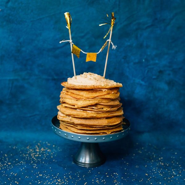 Prepare to Fall in Love With This Million-Layer Pumpkin Crepe Cake