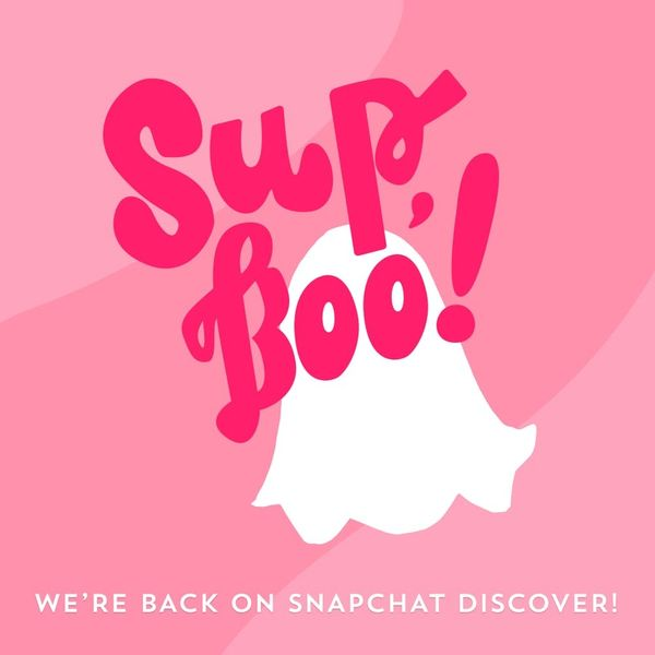 BOO! We're Back on Snapchat Discover for Halloween Season!