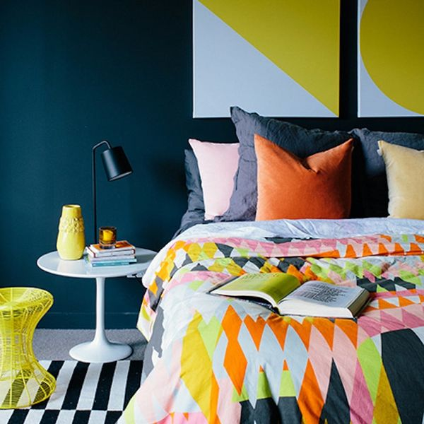"How to Incorporate the Pantone Palette ""Graphic Imprints"" into Your Home"