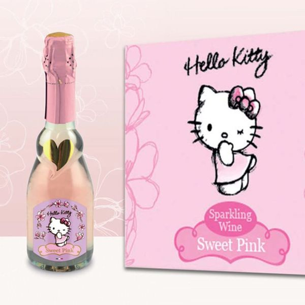 Hello Kitty Wine Is No Doubt the Cutest Drink Around