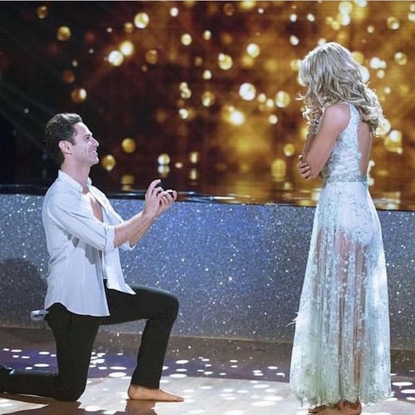Morning Buzz! This Surprise Proposal Live on DWTS Will Melt Your Heart + More