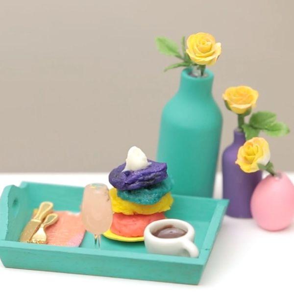 Make It Mini: How to Make Mini Rainbow Pancakes