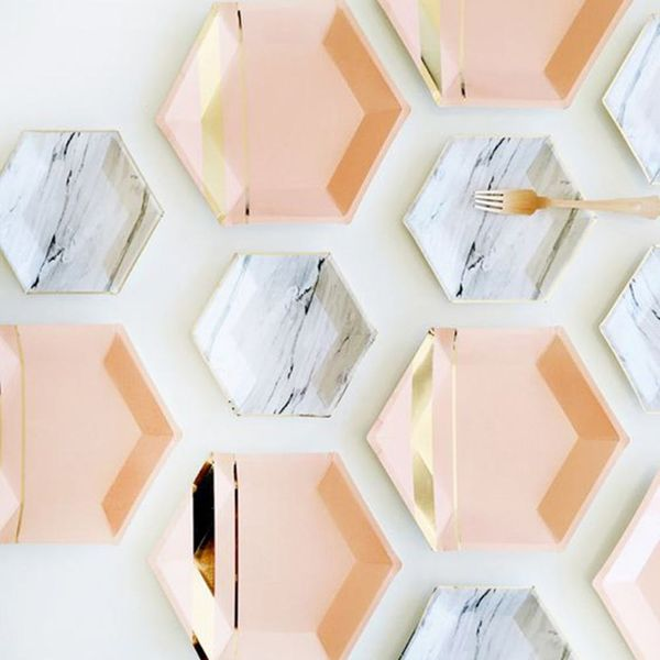 Copper + Marble Is the Color Inspo You Need for Your Fall Wedding