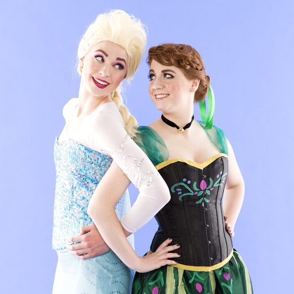 Unleash Your Frozen Fever by Wearing This Anna and Elsa BFF Costume for Halloween