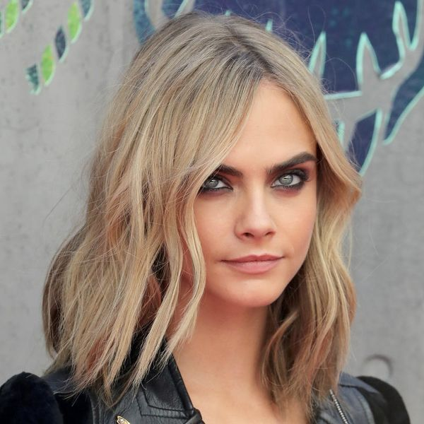 You *NEED* to See Cara Delevingne's Latest Creepy Cool Tat