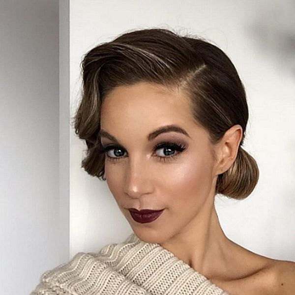 9 Looks That Will Inspire You to Rock Dark Lips at Your Wedding