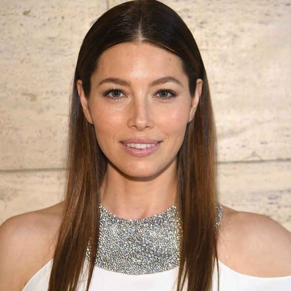 This Is the Super Weird Thing Jessica Biel Eats in the Shower