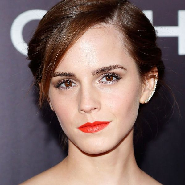 The Very First Pics of Emma Watson in Full Belle Costume Are Here and We Are Freaking