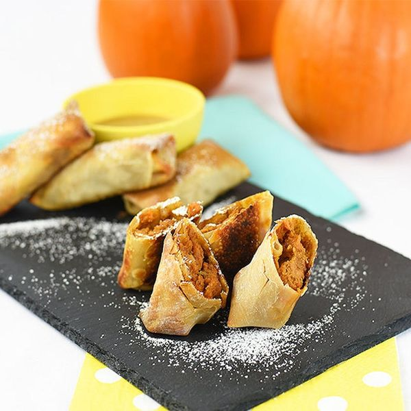 Ditch Your Pie Pan and Make These Sweet Potato Pie Egg Rolls