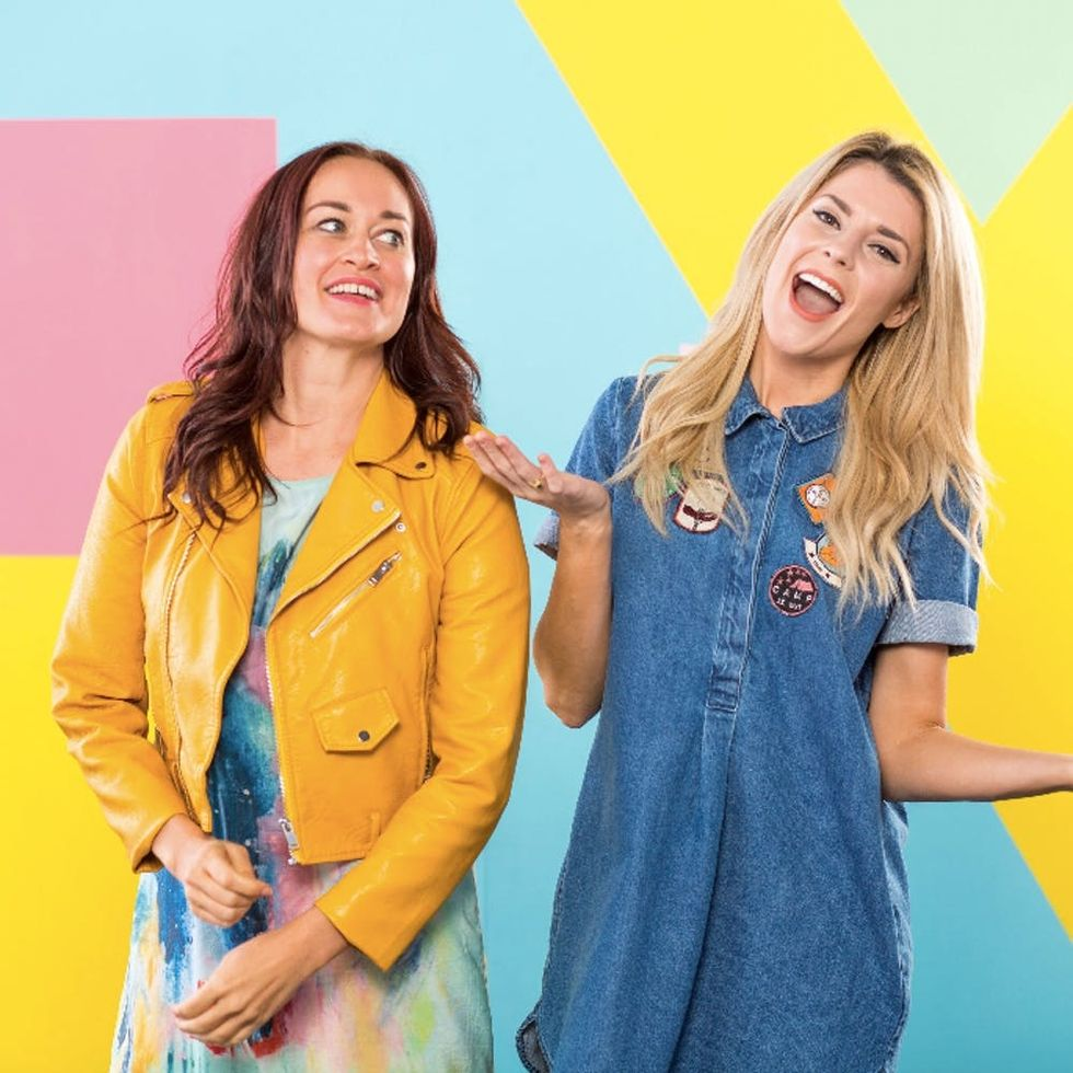 Mamrie Hart + Grace Helbig's Share 5 Simple Rules for Slaying at Life at Re:Make 2016