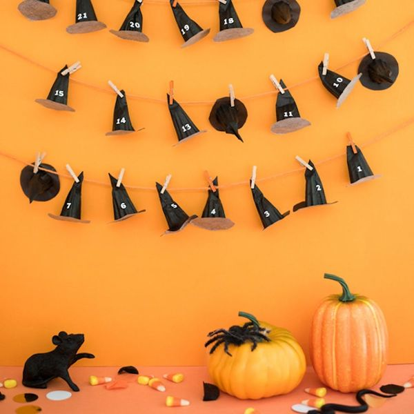 What to Make This Weekend: Halloween Countdown Calendar, Galaxy Pumpkins + More