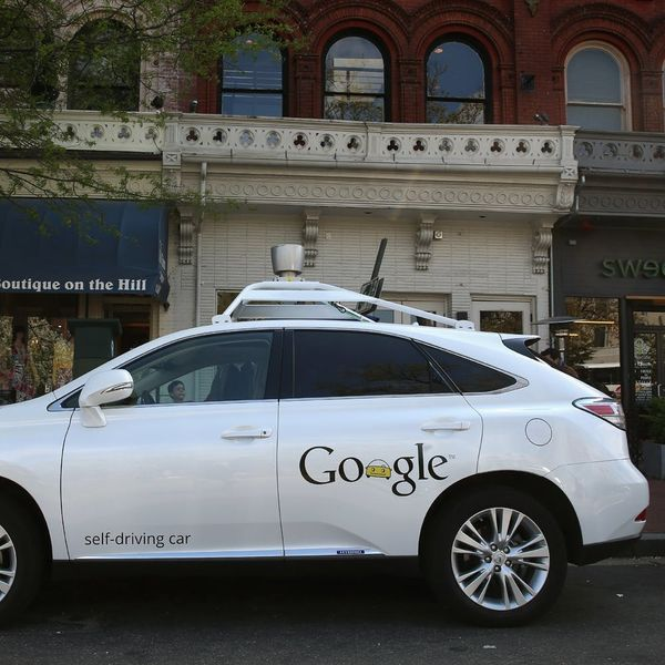 Welp, Something BAD Happened to Google's Driverless Car