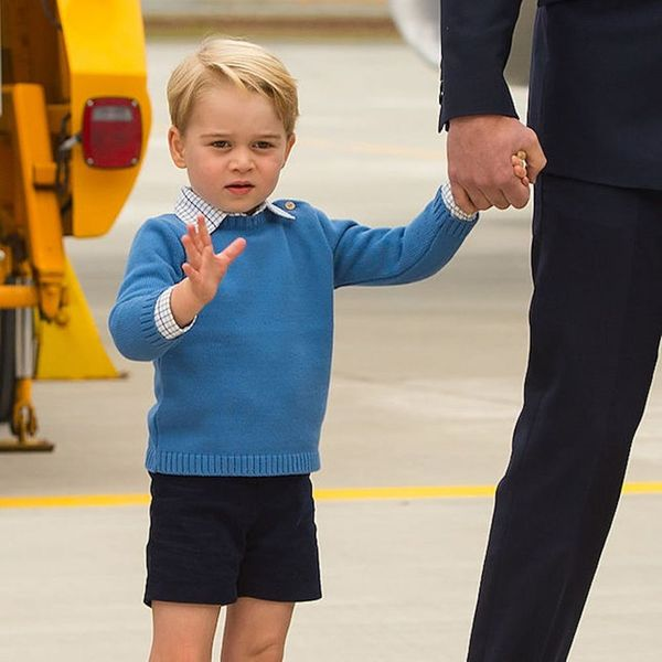 Morning Buzz! This Video of Prince George Leaving Justin Trudeau Hanging on a High Five Will Make Your Day + More