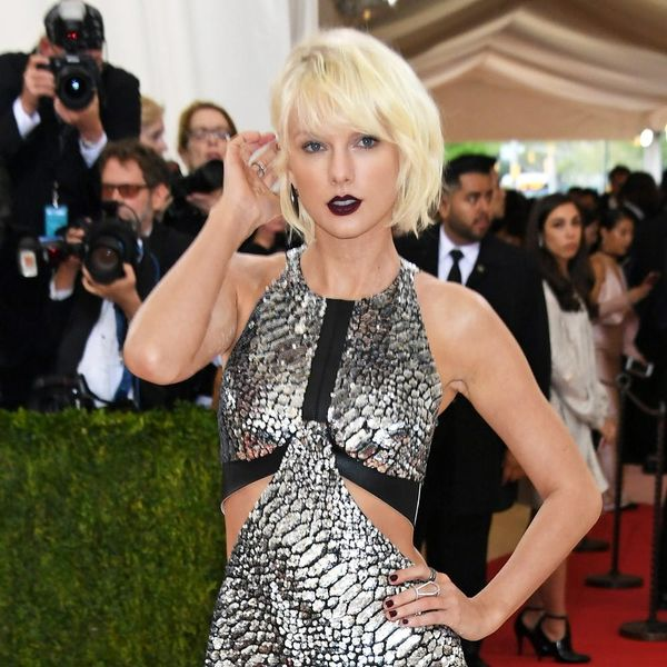 Taylor Swift Shows Off New Hair at Celeb-Filled Party