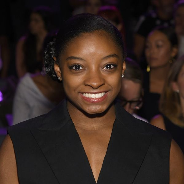 This Is Your First Look at Simone Biles on the Set of Pretty Little Liars
