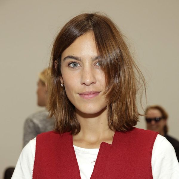 Alexa Chung Just Upgraded Your Grandma's Favorite Sweater