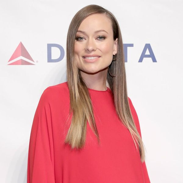 This Is the Unconventional Way Olivia Wilde Just Revealed Her Baby's Sex