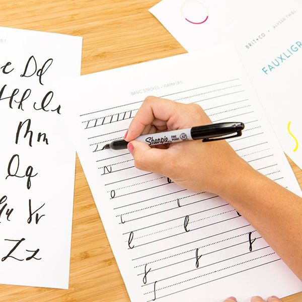Learn Calligraphy Quick (Start With Fauxligraphy First!)
