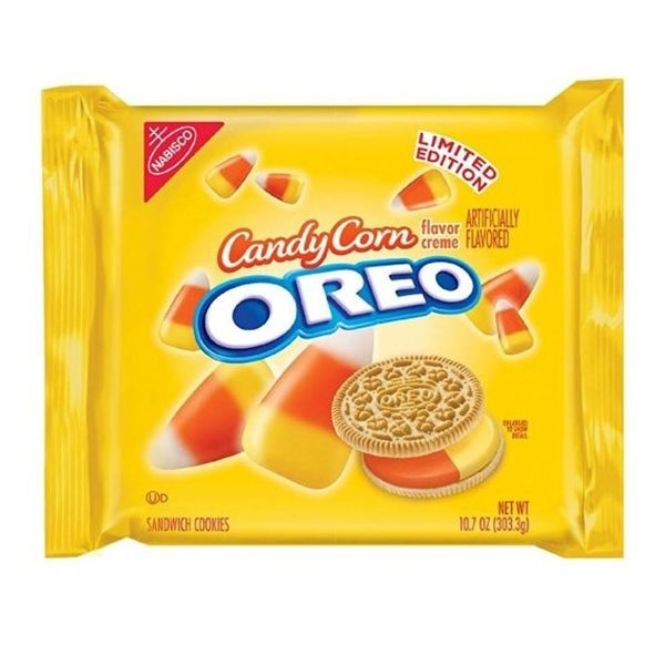 Candy Corn Oreos Are Now a Thing