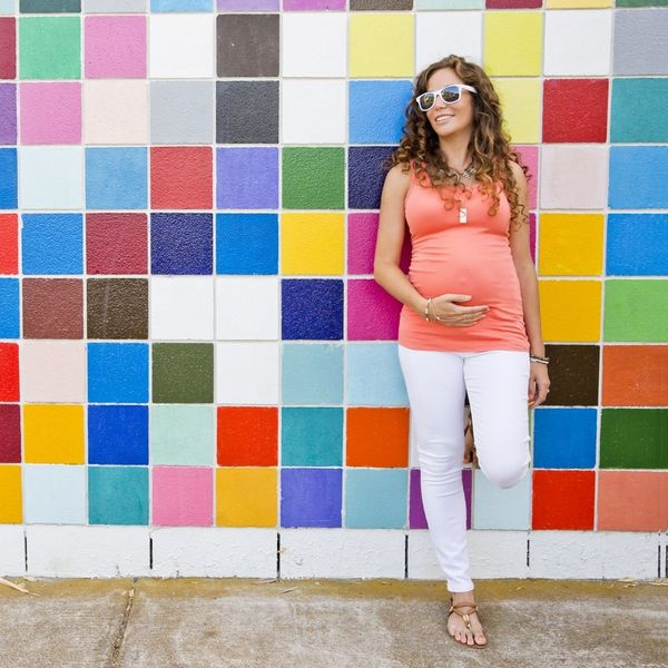 12 Stylish Pregnancy Wardrobe Solutions for the In-Between Stage