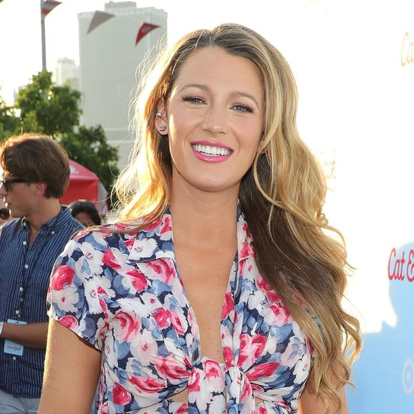 Blake Lively May Have Just Started a New Trend of Matching Food With Makeup