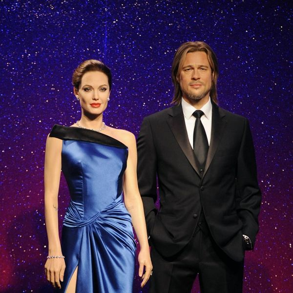 Brad and Angie's Wax Figures Are Now As Separated As They Are