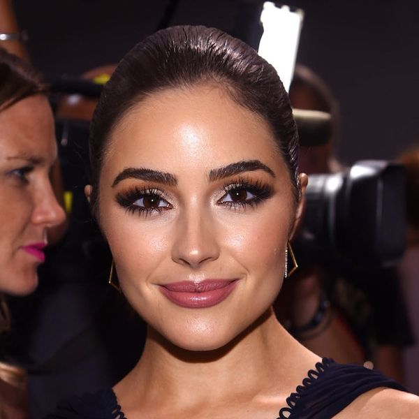 Olivia Culpo's Silky Trench Will Be Your New Go-To Airport Staple