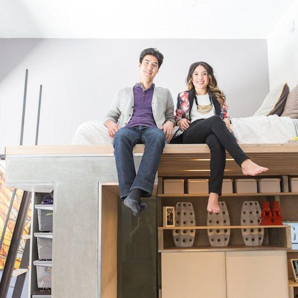 Tiny Spaces: An SF Couple's Stylish Loft Studio