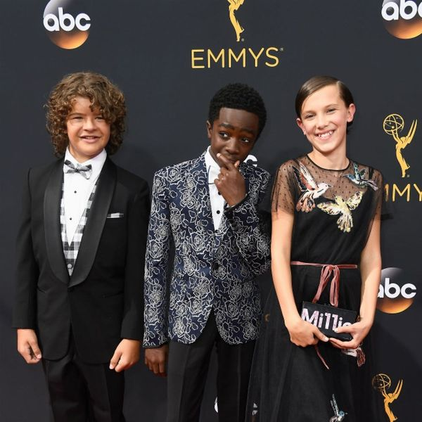 The Cast of Stranger Things Wins the Emmys Red Carpet