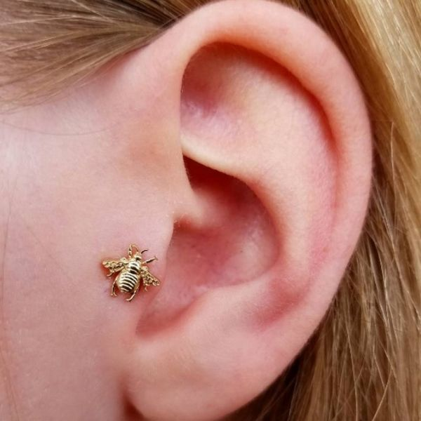 Thinking of Getting Pierced? These 9 Tragus Piercings Will Convince You