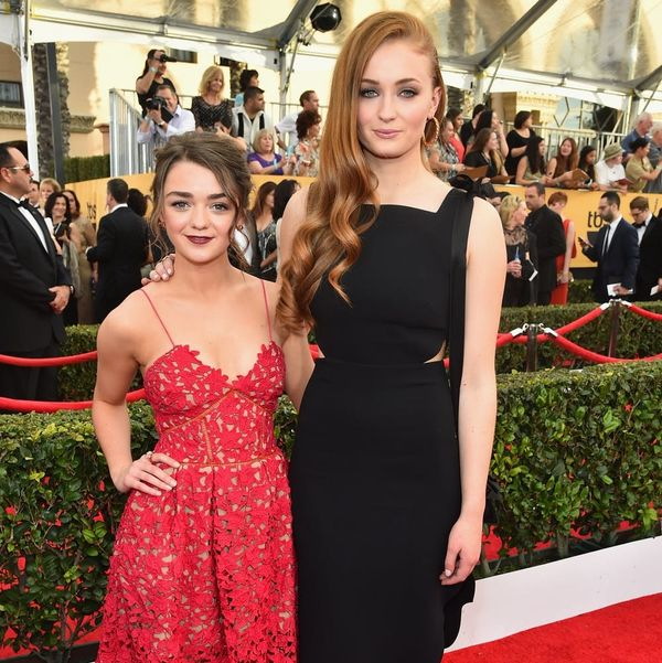 Game of Thrones' Maisie Williams and Sophie Turner Debuted the Cutest BFF Tats at the Emmys