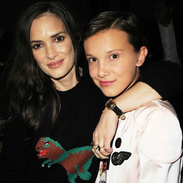 Winona Ryder and Millie Bobby Brown Shared a Mini-Reunion That Was Too Cute for Words